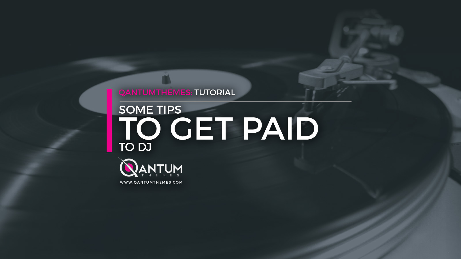 How To Get Paid To Dj