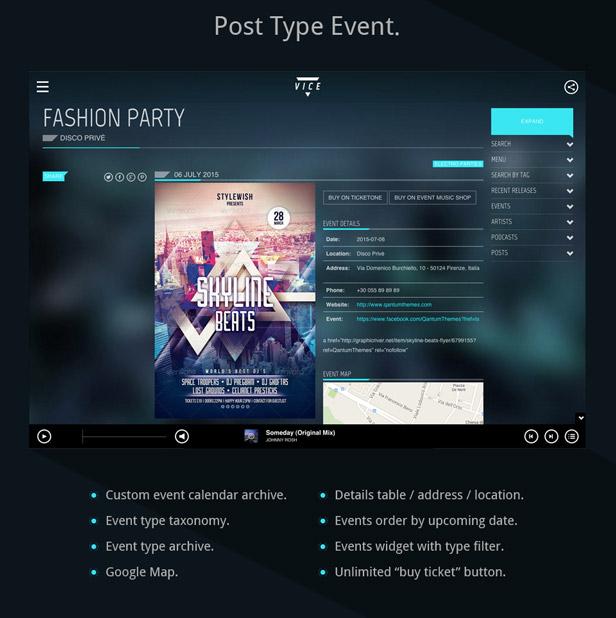Themeforest Music WordPress Theme